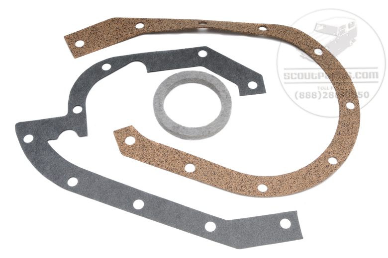 Timing Cover Gasket Set - SD 220, SD 240, BD 220, BD240, BD265, BG220, BG240, BG265.
