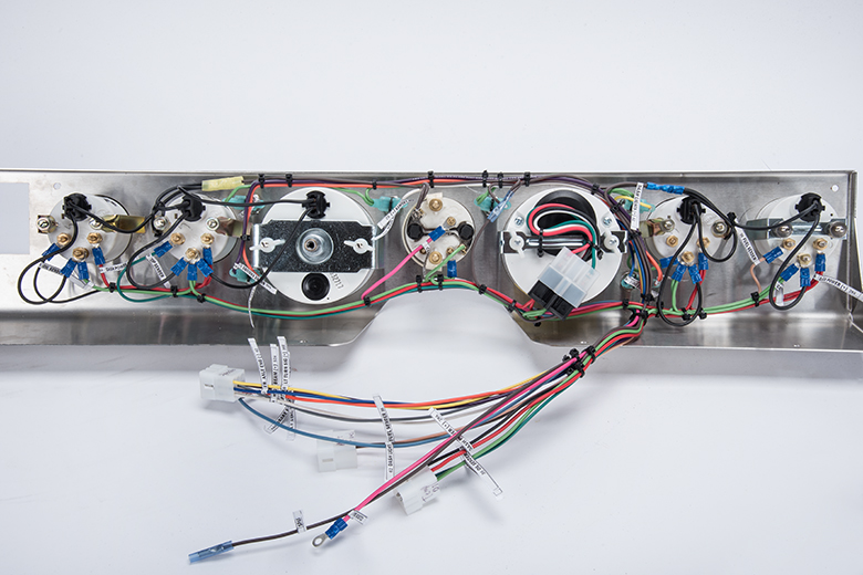 Scout II Dash Panel Wiring Harness For: Stainless Steel Dash Panel Combo Kit With Gauges