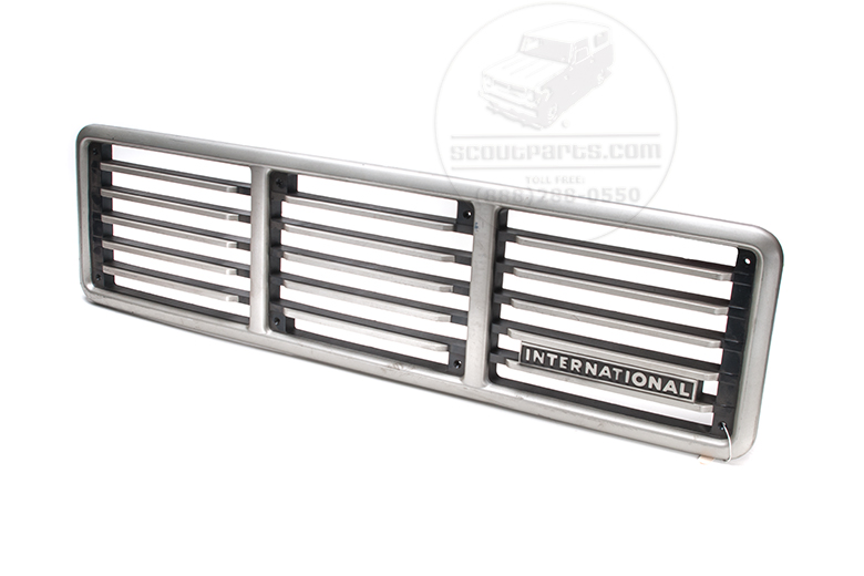 Scout II Grille - 1976  New Old Stock