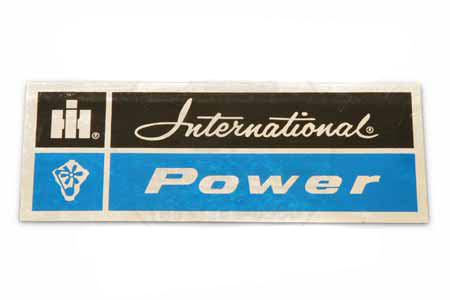 Scout II, Scout 80, Scout 800 International Power Decal - Blue