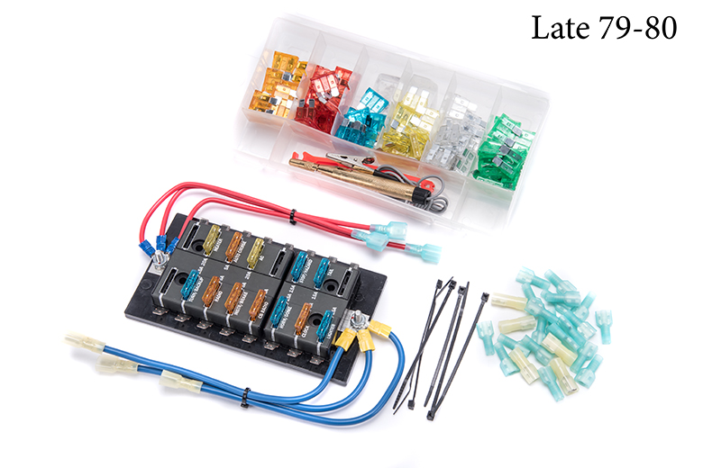 Scout II, Scout 80, Scout 800 Fuse Panel Replacement Update Kit