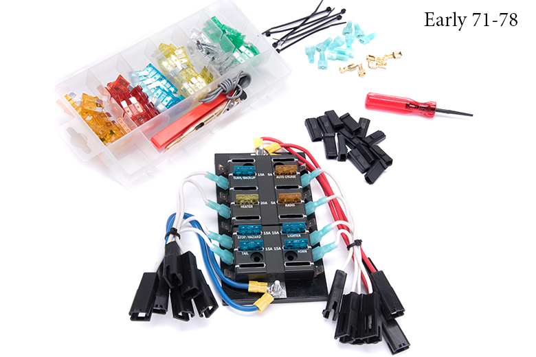 18058a_239590 fuse panel replacement update kit international scout parts Scout II Wiring Harness at nearapp.co