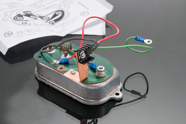 Solid State Voltage Regulator Kit for Gauges.
