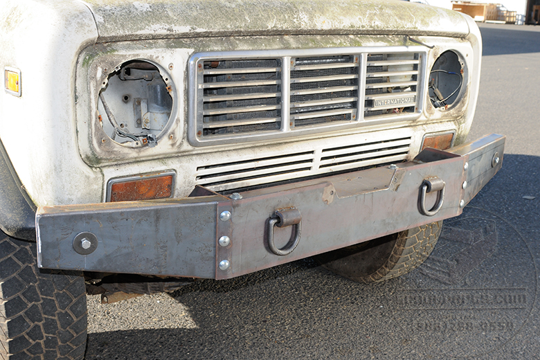 Scout Ii Winch Bumper Extreme Duty International Scout