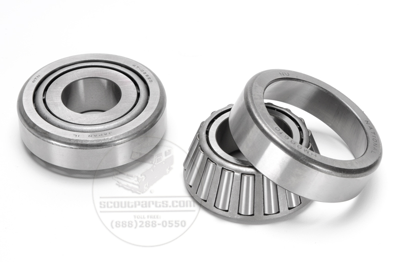 Pinion Bearings, Front - Dana 30 and Dana 27