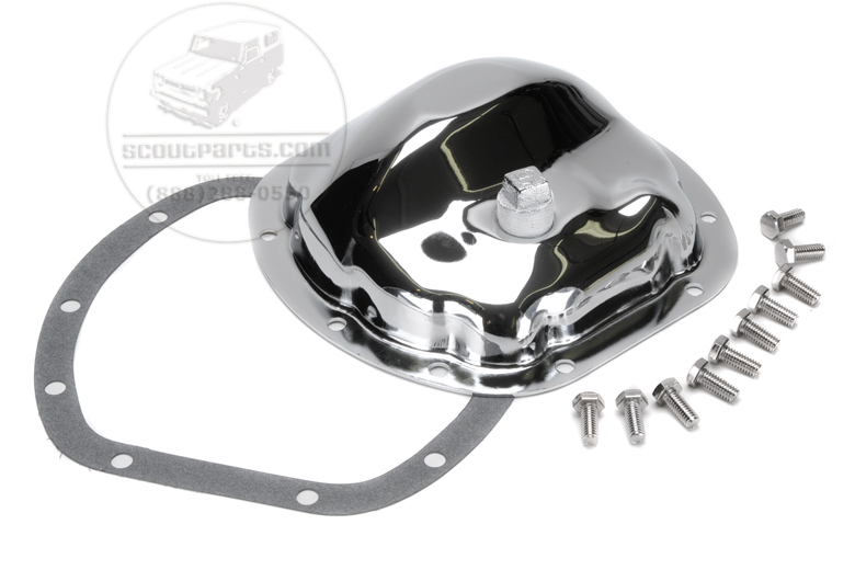 Scout II, Scout 80, Scout 800 Dana 27 Chrome Differential Cover With Bolts And Gasket