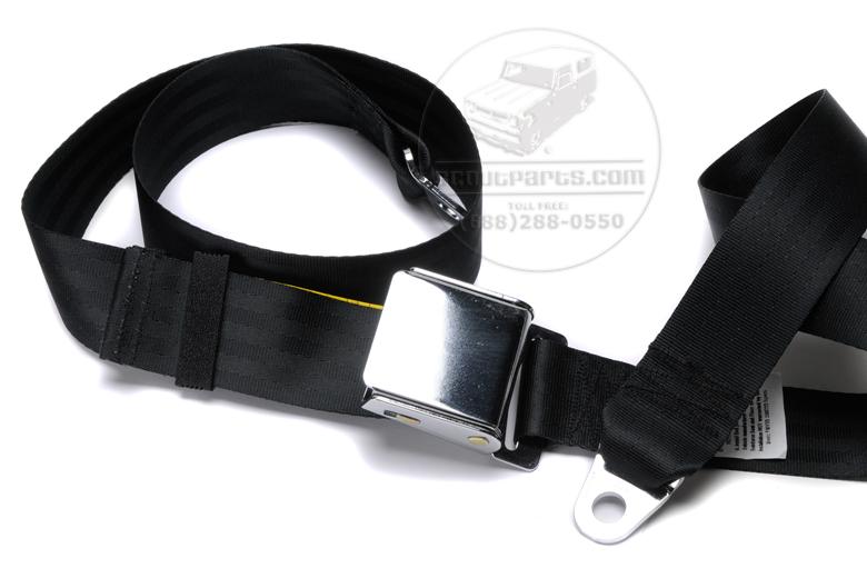 Seat Belt - Airplane Latch Lap Belt