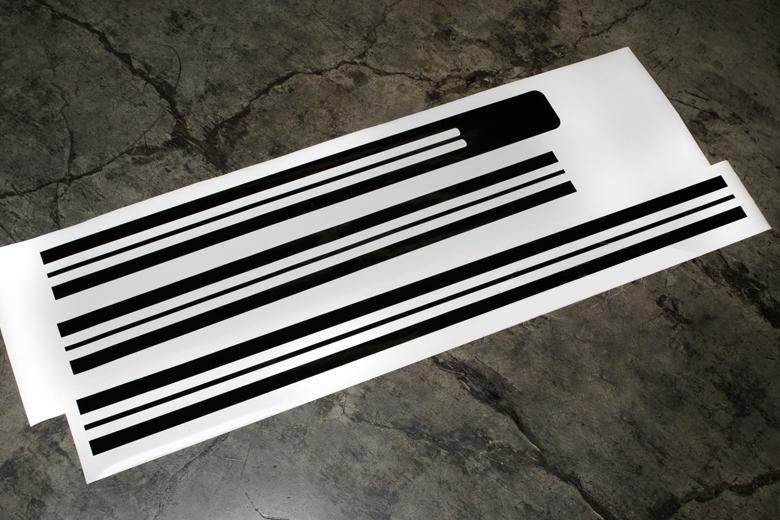 Scout II Stripes - Vinyl Decal Kit