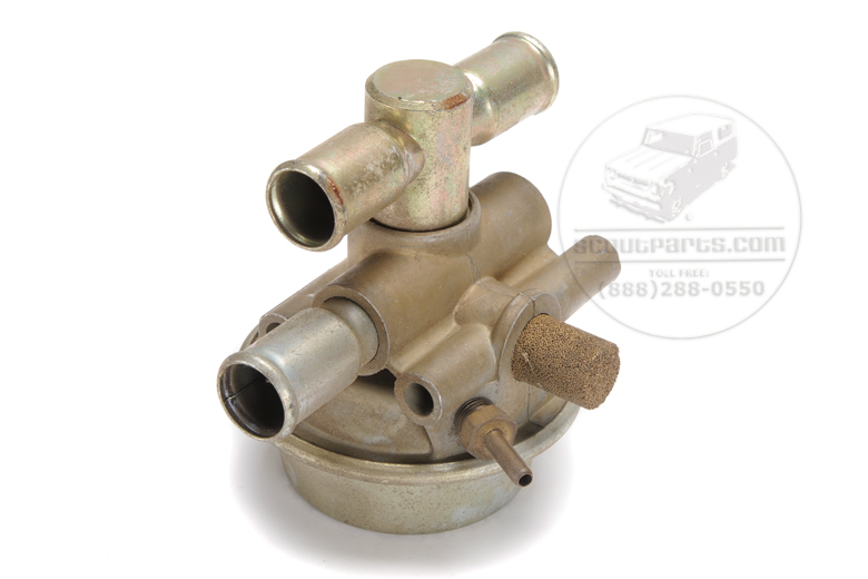 Anti back fire valve for V-8