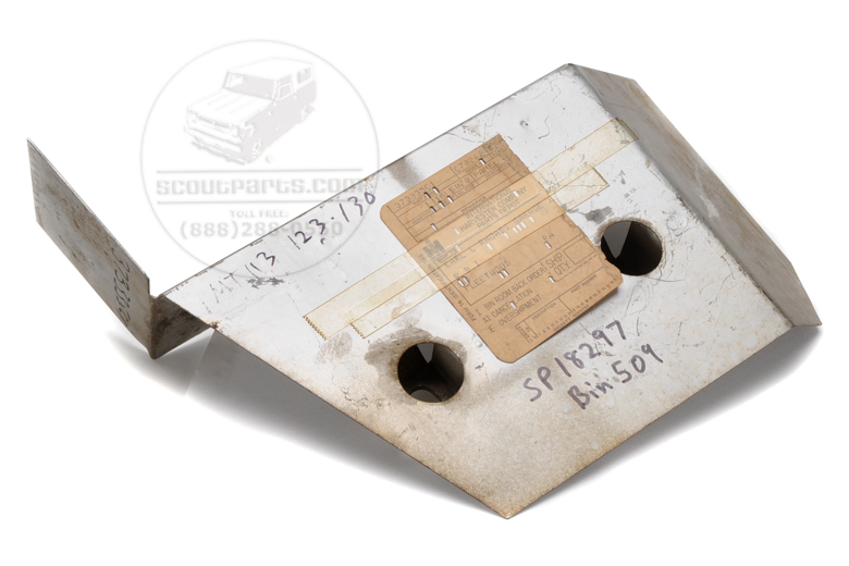 heat shield - NEW OLD STOCK - keeps heat off your starter & wiring