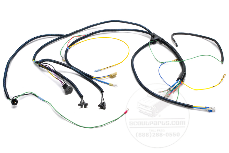scout ii engine wiring harness gas engines international engine wiring harness gas engines
