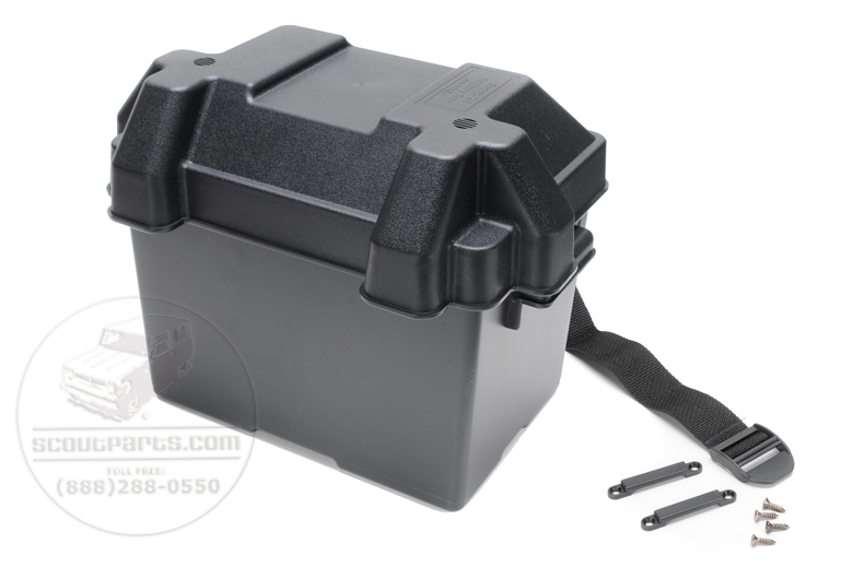 Scout II, Scout 80, Scout 800 Battery box, group 24 batteries - Protect your Scout