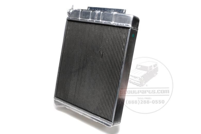 Radiator NEW - Aluminum  V8
