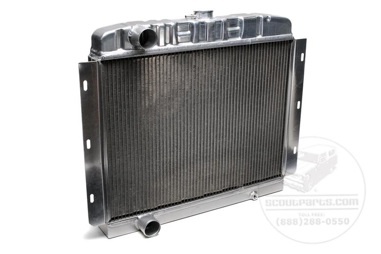 Radiator - Aluminum S800 V8
