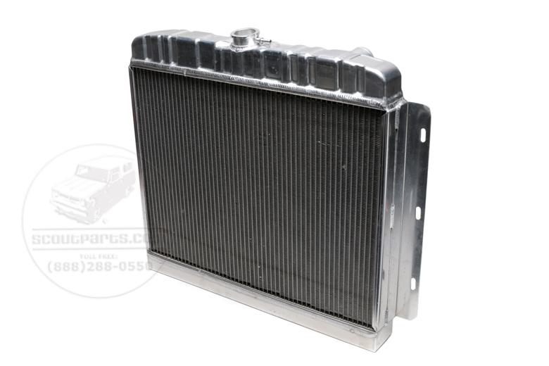 Scout 800 Radiator - Aluminum S800 V8