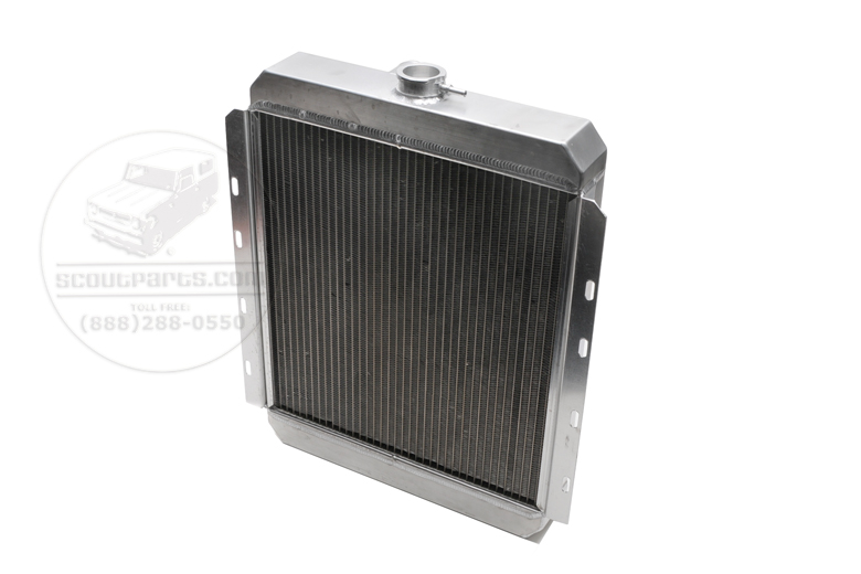 Scout 80, Scout 800 Radiator - Aluminum for 4CYL