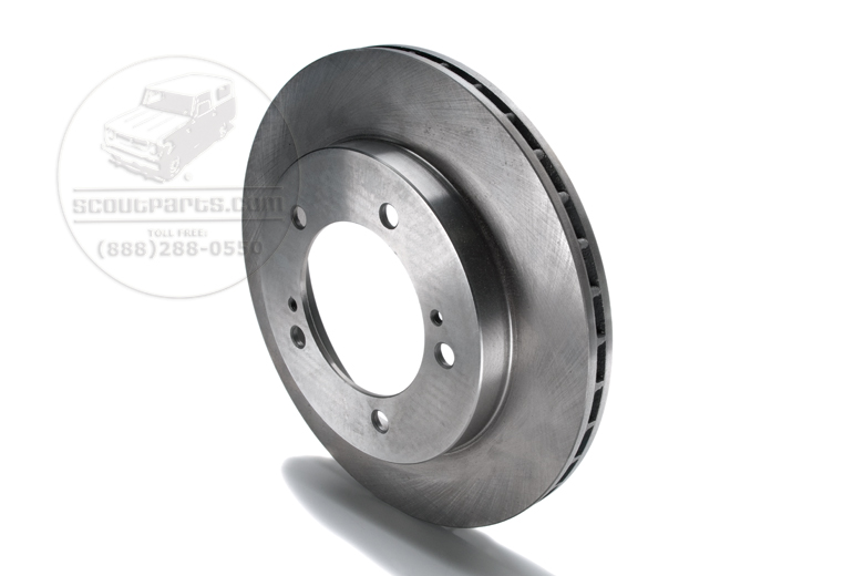 Scout II Brake Rotor - Replacement for Rear Brake Conversion