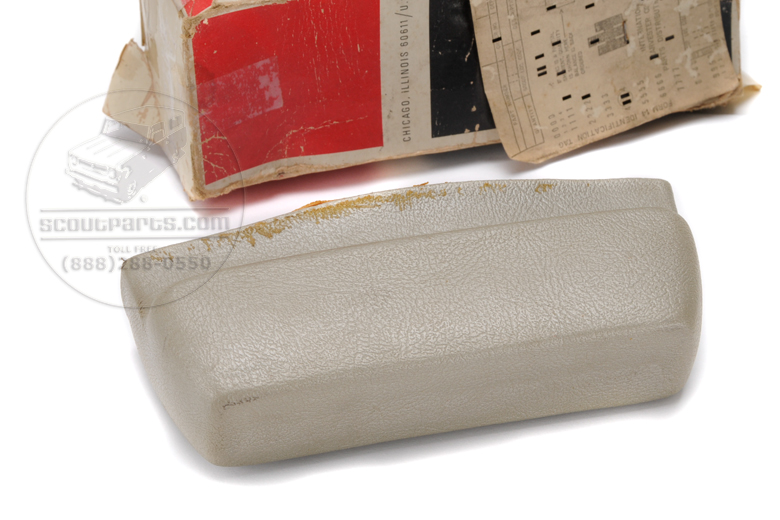 Scout 80, Scout 800 Arm Rest - Champagne Only - New Old Stock