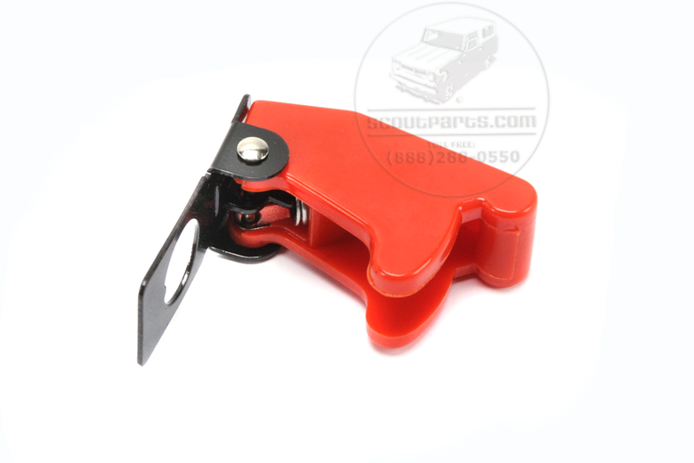 Scout II, Scout 80, Scout 800 switch cover - Red Toggle Safety Cover