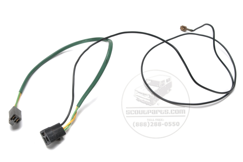 Scout II, Scout 80, Scout 800, Pickup, Scout II Diesel - Wiring Harness - radio speaker and power