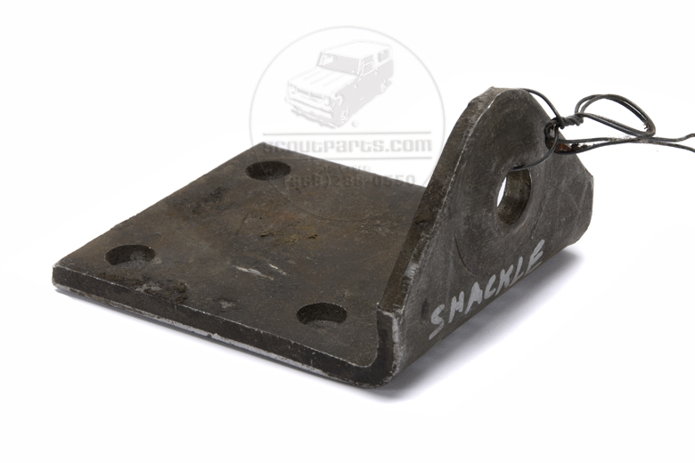 Shackle Bracket - 3/4 Ton