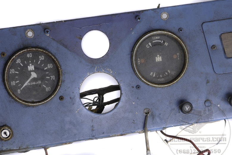 Scout 80 Dash Panel - Used - Gauges Not Included