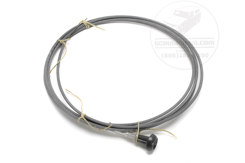 Universal cable - made by IH - grey knob