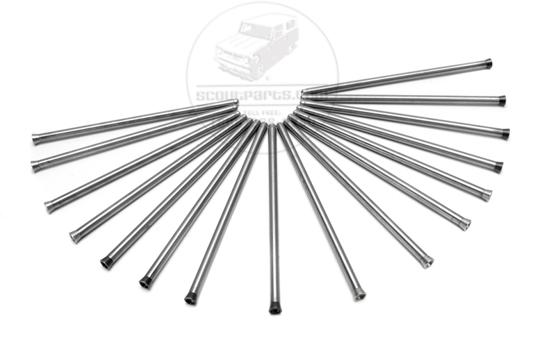 345 V8 Pushrod - Ball and Cup Type (Set of 16)
