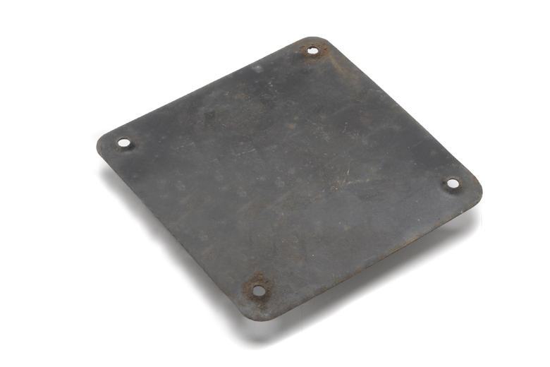 Scout II Tail Gate Access Panel Plate - NEW OLD STOCK