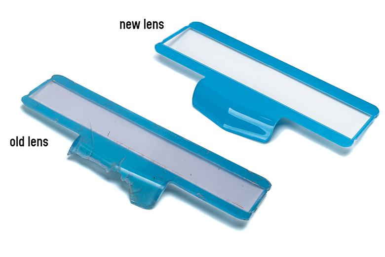 Scout II Speedometer Lens - , Traveler, D Series Pickup