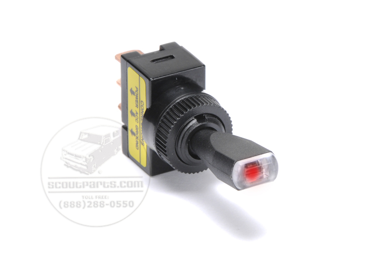 Red Light Toggle Switch