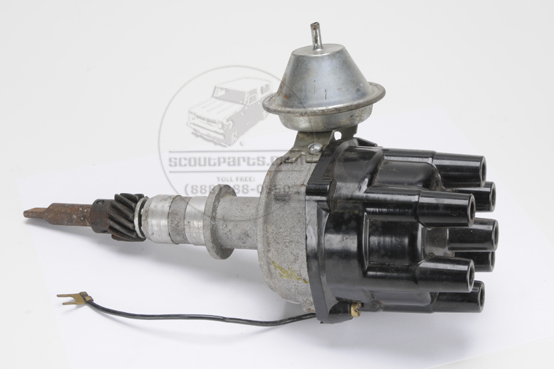 Scout II Distributor For 258 6 Cylinder - New Old Stock