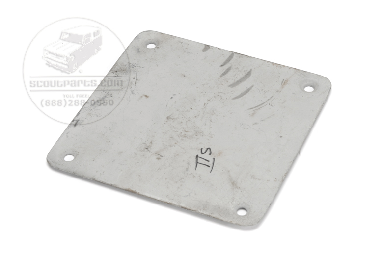 Scout II Tailgate Latch Access Plate Panel