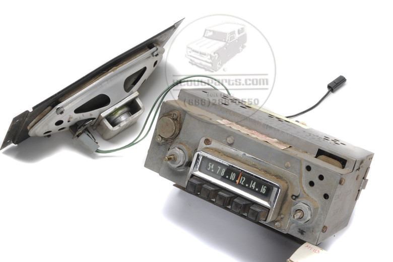 radio and speaker complete kit for scout 800 international scout parts scout ii parts