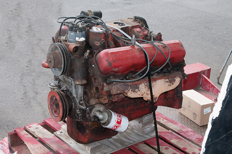 Scout II, Scout 800 345 Engine Used