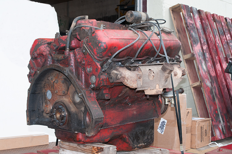 Scout II, Scout 800 345 Engine Used - International Scout Parts