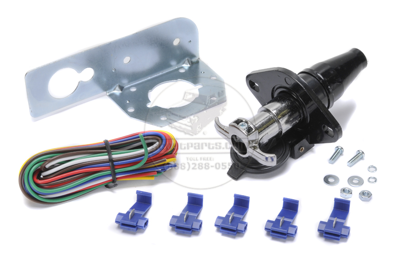 Scout II, Scout 80, Scout 800 Trailer Wiring Kit - 6 Pole