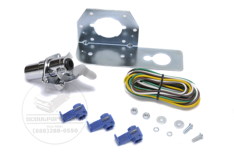 Trailer wiring kit - 5' ,  4 pole