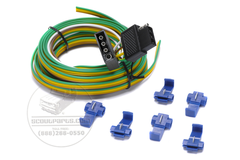 Trailer wiring kit - 24 foot 4 pole