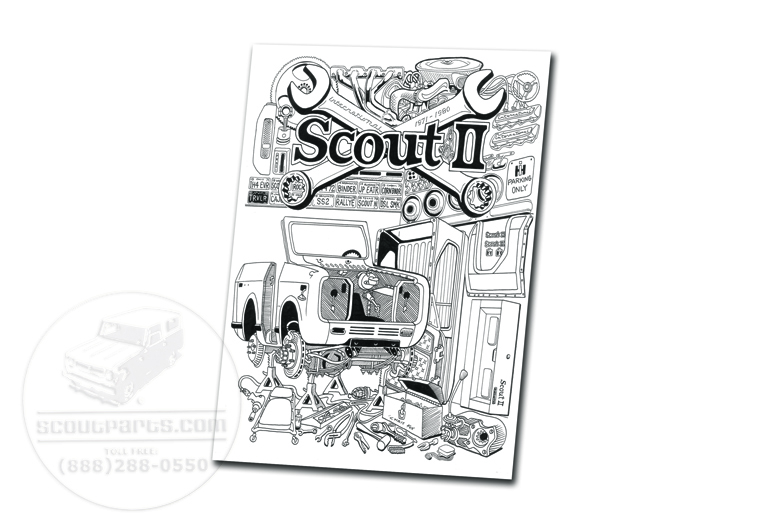 Scout II 11x14 Cardstock Print of  'In the Garage', by artist Chris Fox