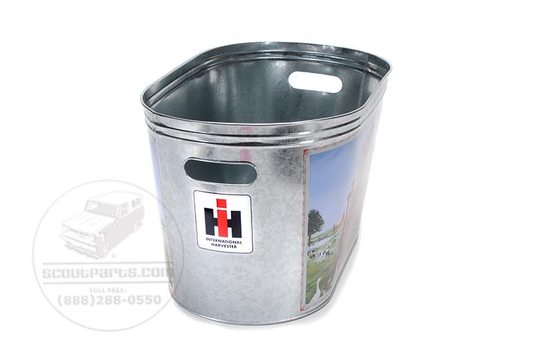 Farmall Utility Bin - Galvanized Steel