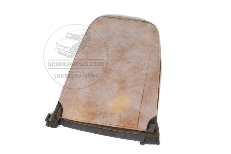 Scout II Seat Cover - Greenish Brown - High Backed Seat
