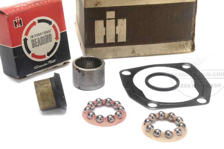 Scout 800 Steering Gear Rebuild Kit. Steering Gear Repair Kit - NEW OLD STOCK