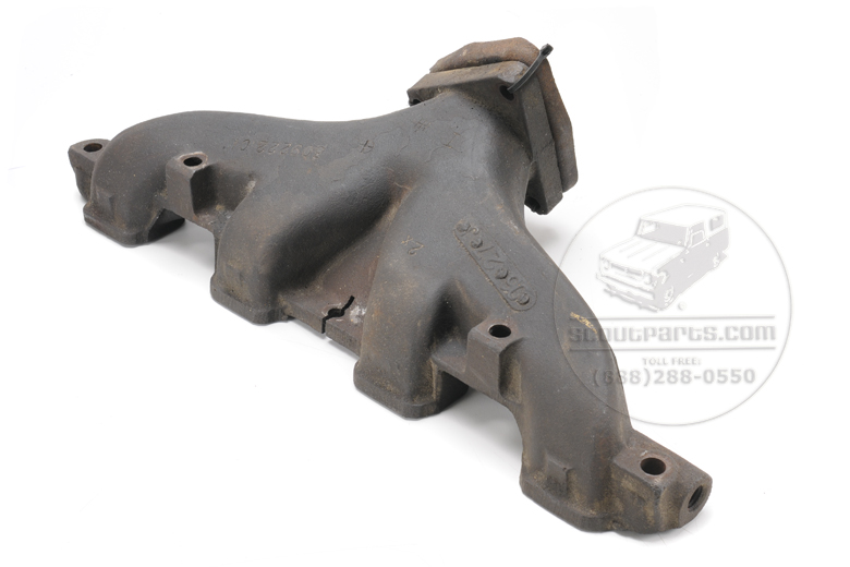 INTERNATIONAL 392 Engine Exhaust Manifold - USED center dump