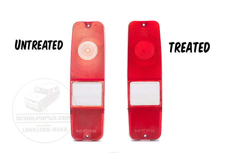 Scout II, Scout 80, Scout 800 Transparent Vinyl Red Spray Paint -  Fix Your Tail Lights