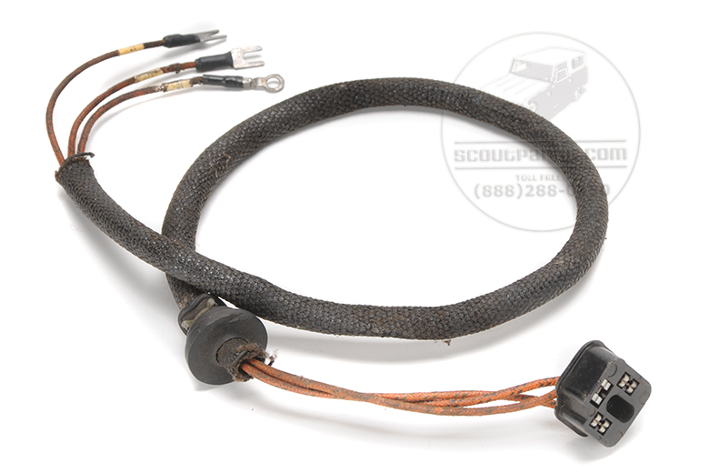ih scout 80 wiring harness scout 80 headlight harness - new old stock - 61-65 ... #15
