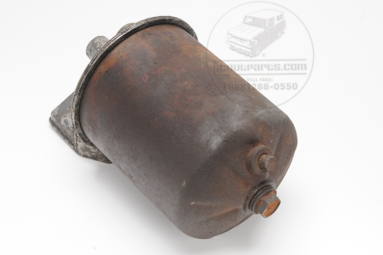 Scout 80, Scout 800 Oil filter canister assembly