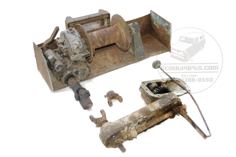 Scout 80, Scout 800 PTO Winch (used) and PTO
