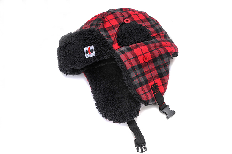 Red Buffalo Plaid Trapper Hat