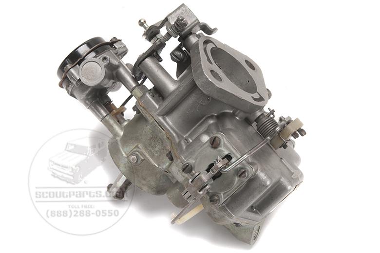 Scout II Carburetor For 258 Cid 6 Cylinder Engine - Rebuilt By Holley